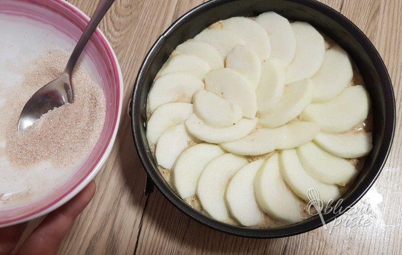 Jabolčno pecivo brez moke