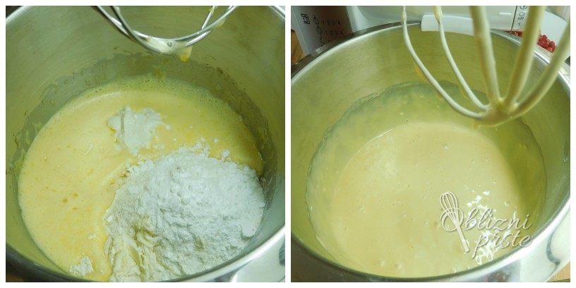 Jogurtovo pecivo z malinami