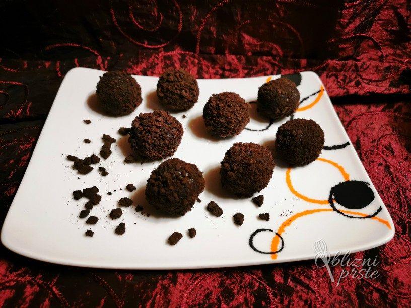Oreo kroglice z Nutello