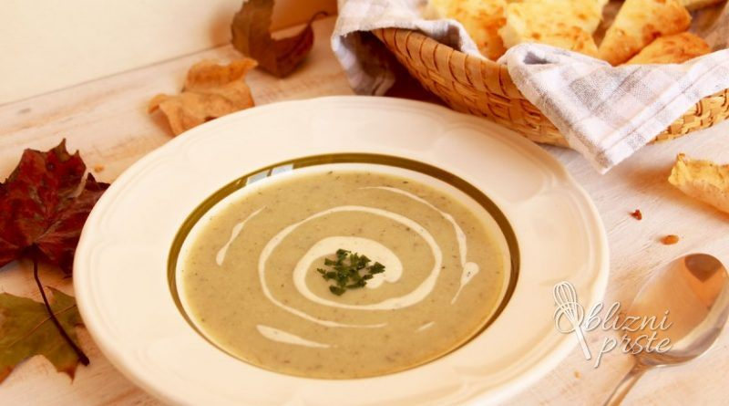 kremna gobova juha