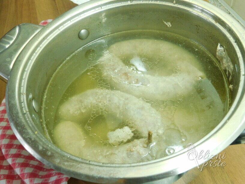 Pečene pečenice ( Po moje )