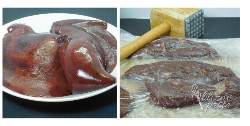 Panirana svinjska jetra