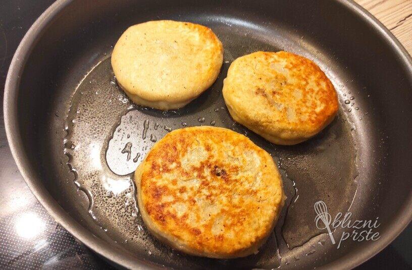 Polnjeni krompirjevi polpeti