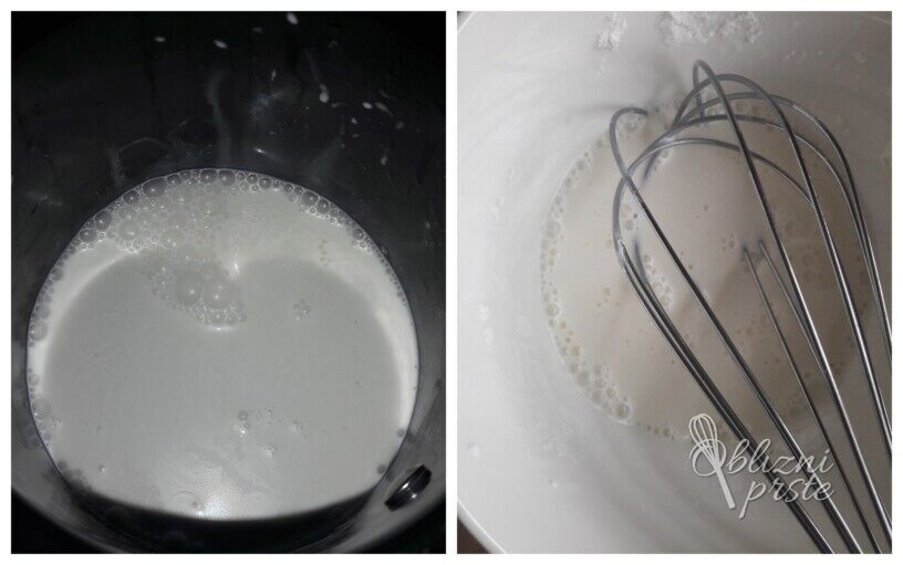 bela vroča čokolada