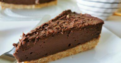 Čokoladno kavna tortica brez peke