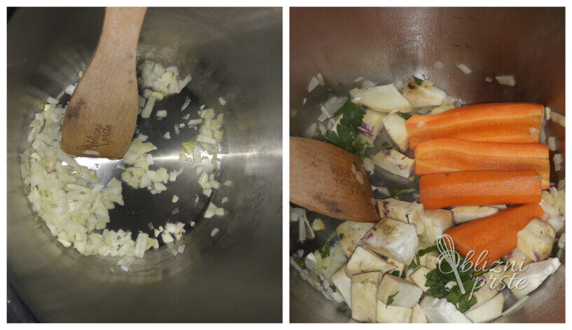 Čista zelenjavna juha