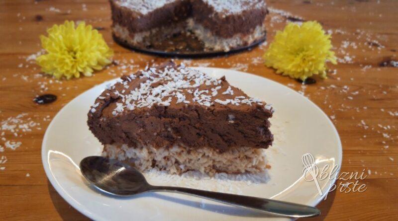 nebeska kokosova torta