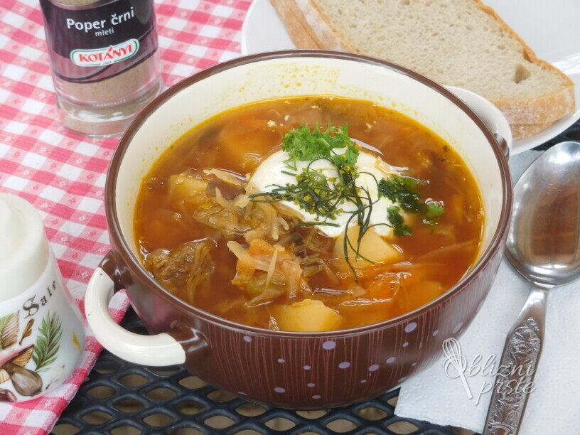 Boršč, ruska juha