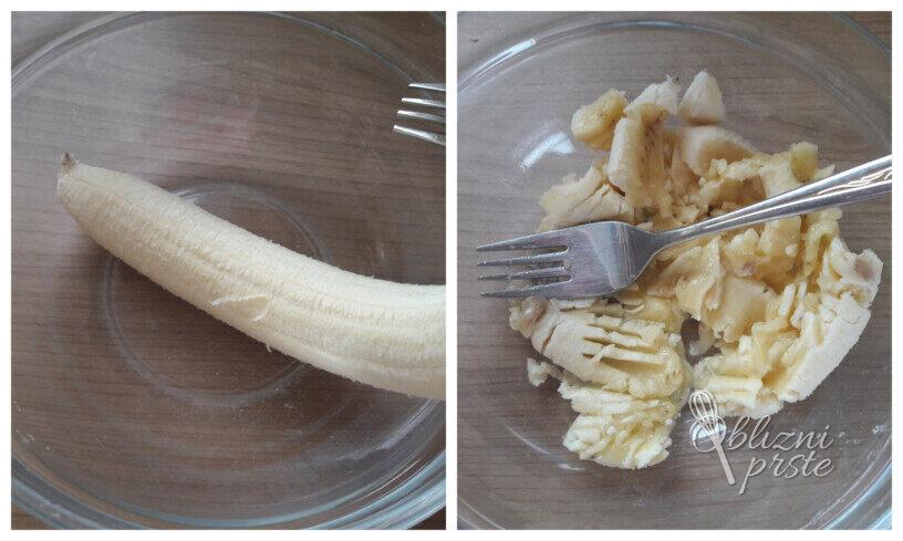 Bananine ovsene palačinke brez glutena