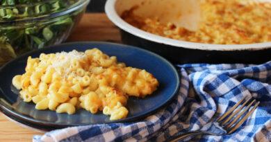 Gratinirani makaroni s sirom ali mac and cheese