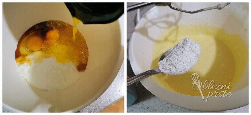 Vaniljevi mafini z jagodami