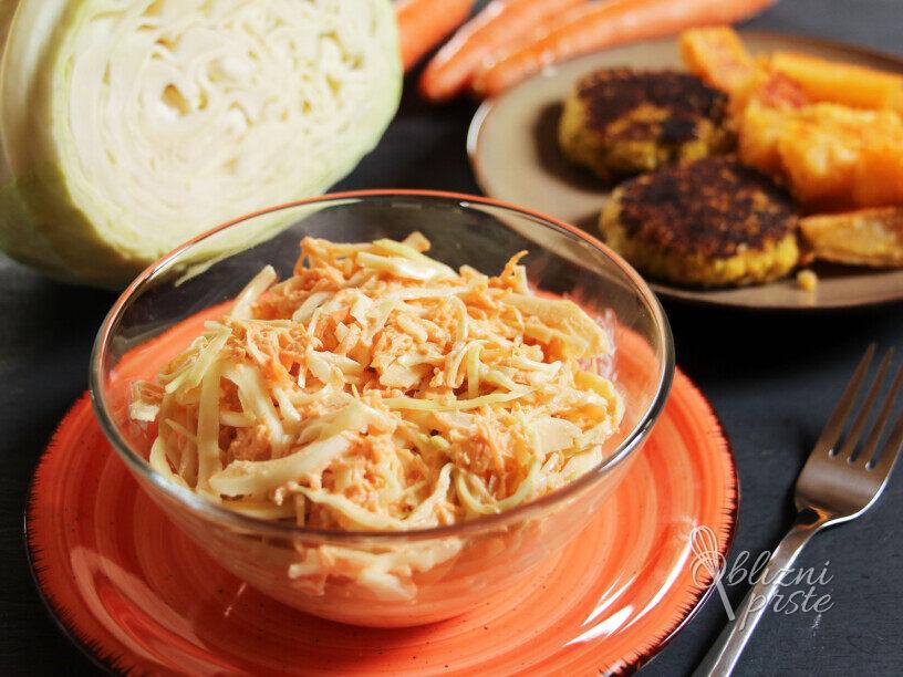 Zeljna solata coleslaw