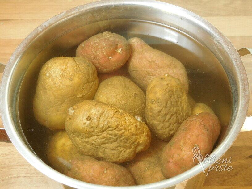 Pire krompir z blitvo