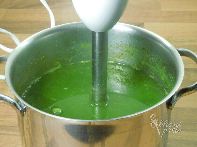Ohrovtova juha z zakuho