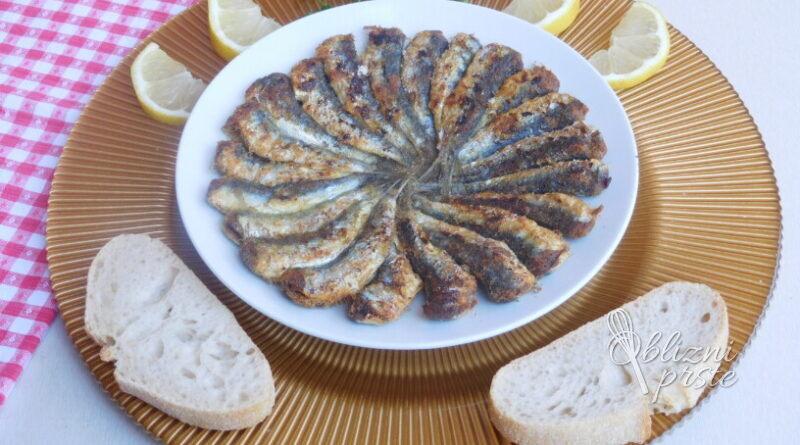 Sardelice s koruzno moko
