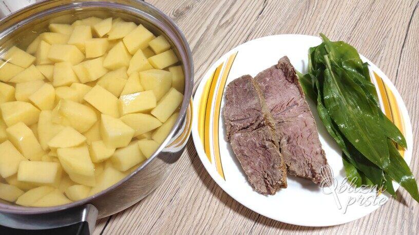 Krompirjevi polpeti z govedino