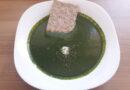 Špinačna juha s koprivami