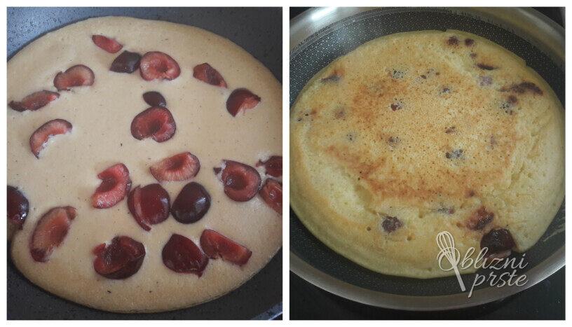Češnjeva brezglutenska omleta
