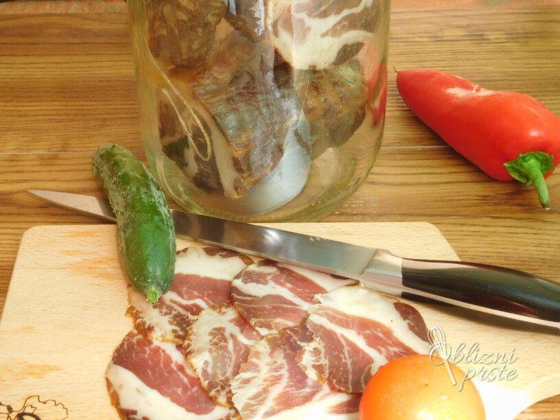 Shranjevanje prekajenih mesnih izdelkov