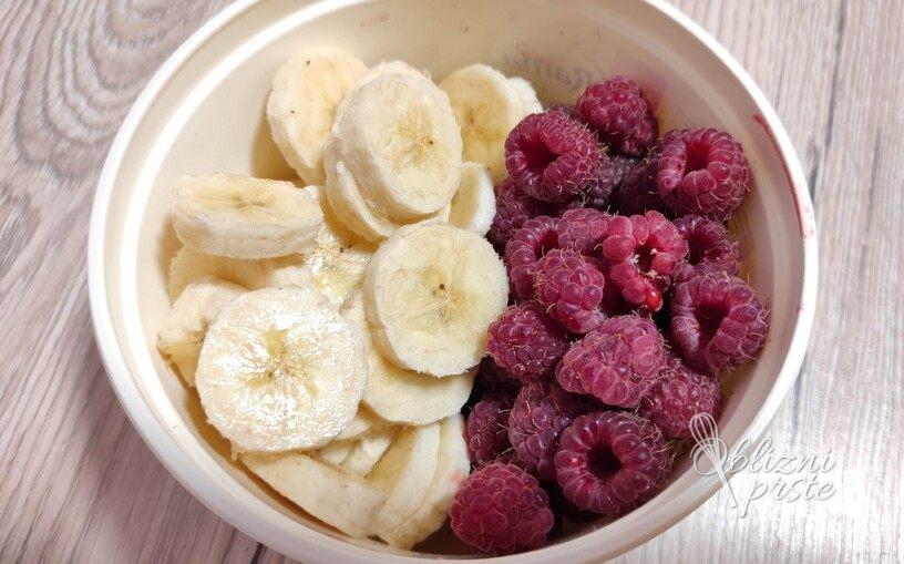 Hitro pripravljen sladoled iz zamrznjenega sadja