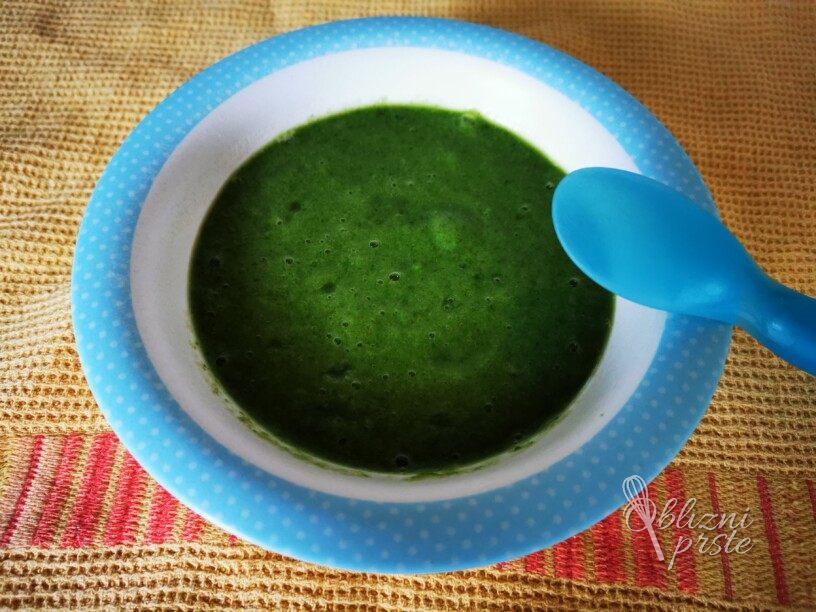 Zeleni obrok - blitva z banano