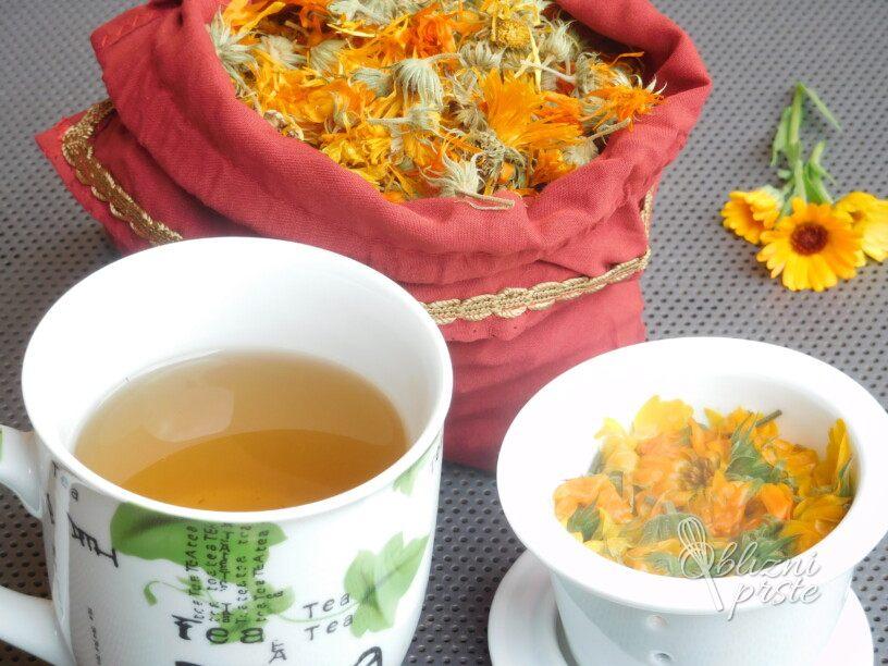 Čaj iz ognjiča