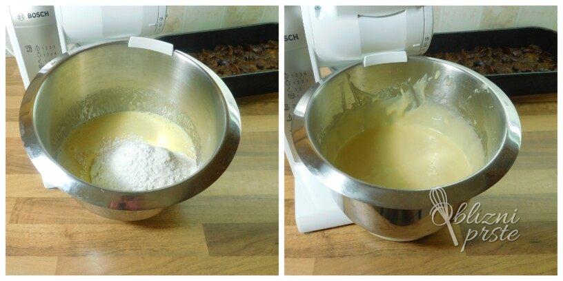 Slivova pita, obrnjena in enostavna za pripraviti