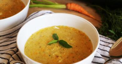 milijonska juha s polento in bučko