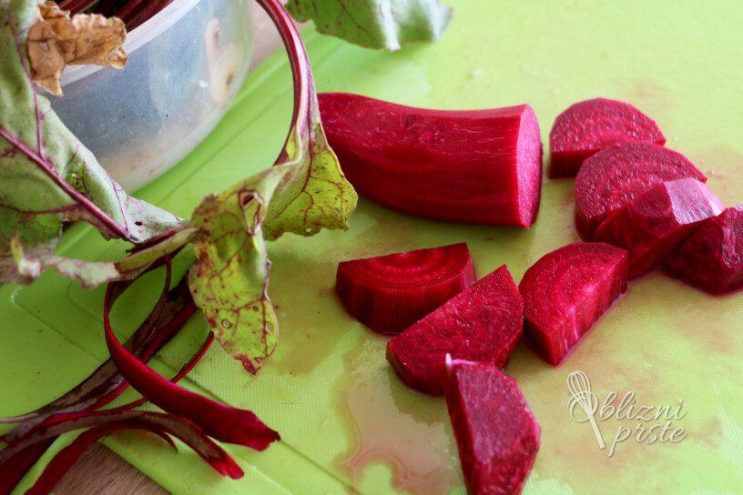Pečena pisana mešana zelenjava