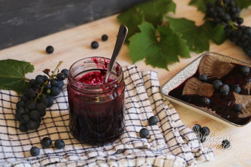 preliv iz rdečega grozdja