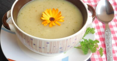 Krompirjeva kremna juha